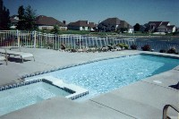 Newport Fiberglass Pool and Spa in Springfield, KY